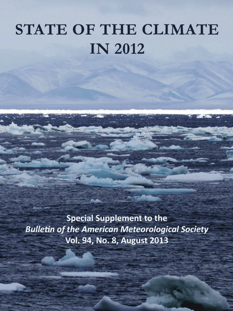 State of the Climate in 2012