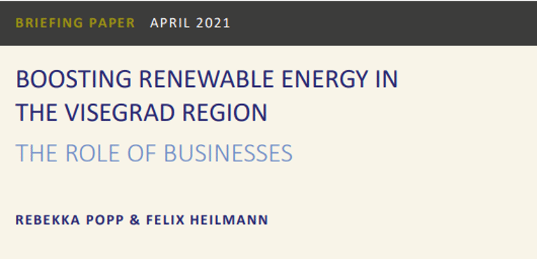 Boosting Renewable Energy in the Visegrad Region: The Role of Businesses
